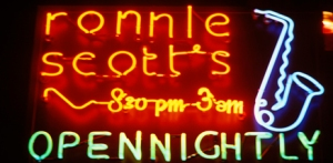 Ronnie Scott's sign